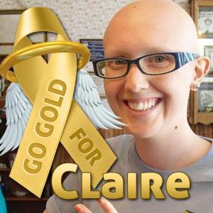 go gold for claire